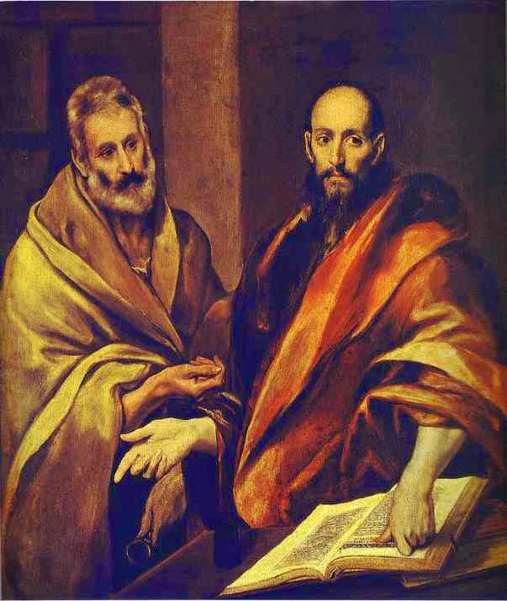 «Πέτρος και Παύλος» του Δομίνικου Θεοτοκόπουλου