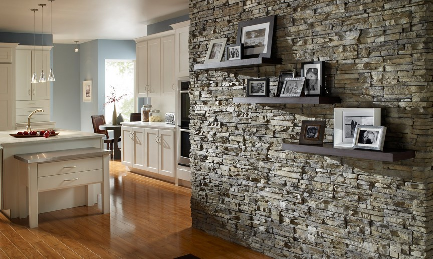 3d Wallpaper Or Wall Panel Or Wall Panels Stacked Stone Stacked Stone Eldorado Stone