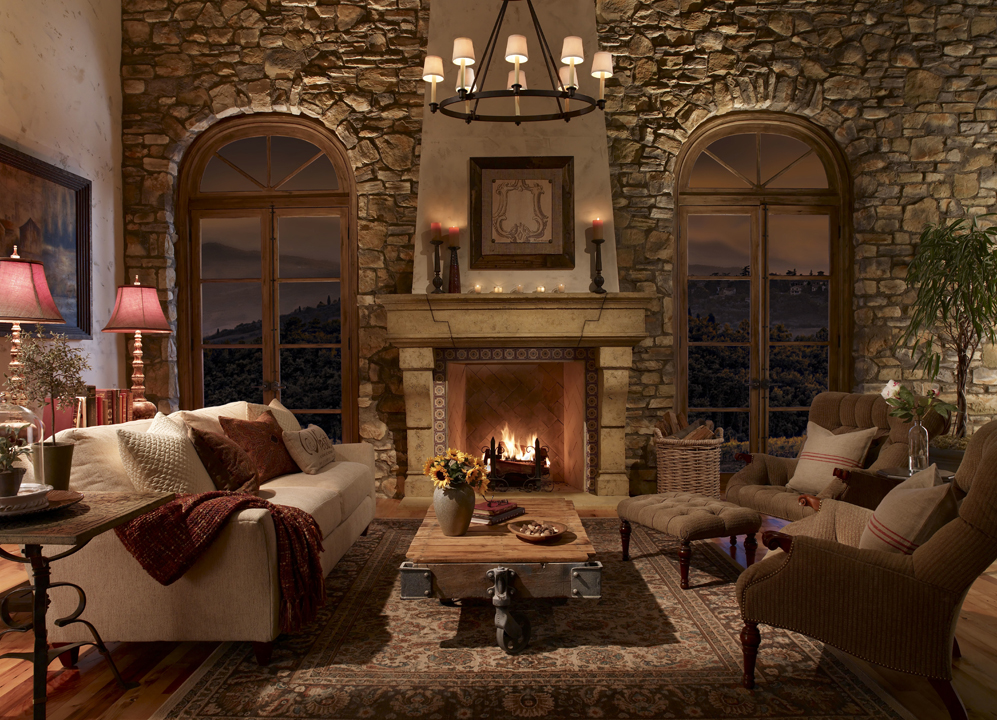 American Paint And Wallpaper Fall River Eldorado Stone 174 Launches Fireplace Surrounds Collection