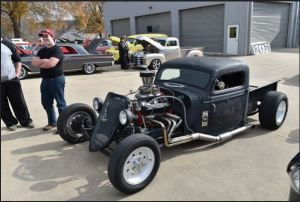 1st 1935 Rat Rod Rusty Lawrence Jasper