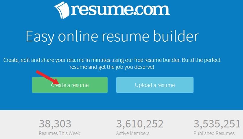 online resume banana hai