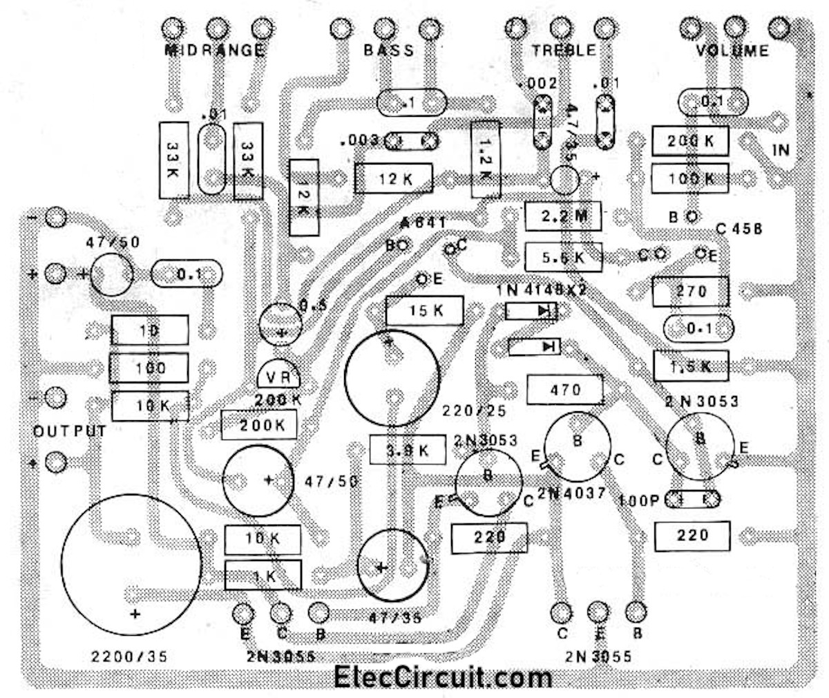 2n3055 power amplifier
