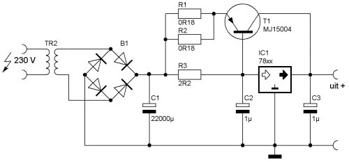 5v 10a regulator circuit