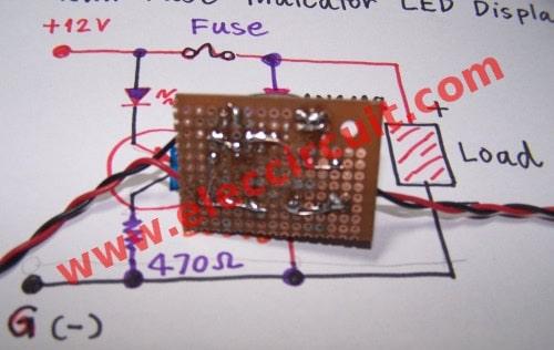 10000 Inverter Wiring Diagram Blown Fuse Indicator Circuit With Led Display