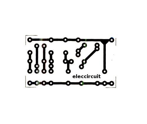 single side fr1 pcb circuit board