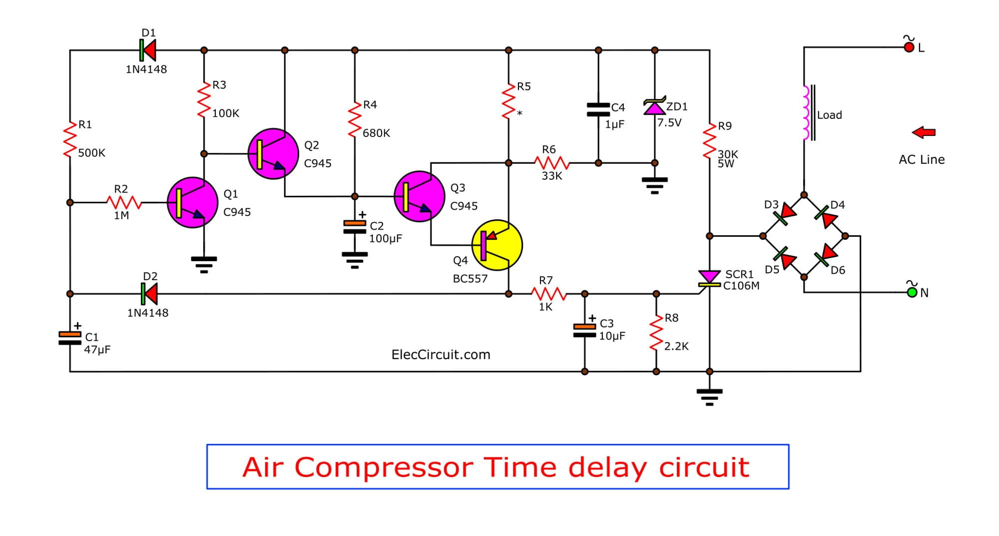 Wiring Diagram For A Air Compressor - Carbonvotemuditblog \u2022