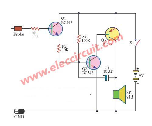 led status ttl logic high low circuit