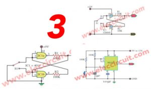 many dc to dc converters by ic 555
