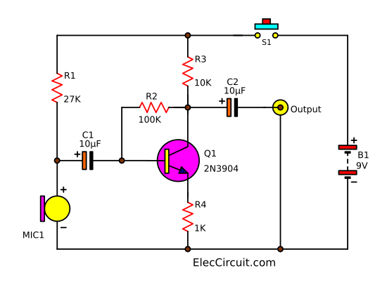 Condenser Mic Wiring Diagram Wiring Diagram