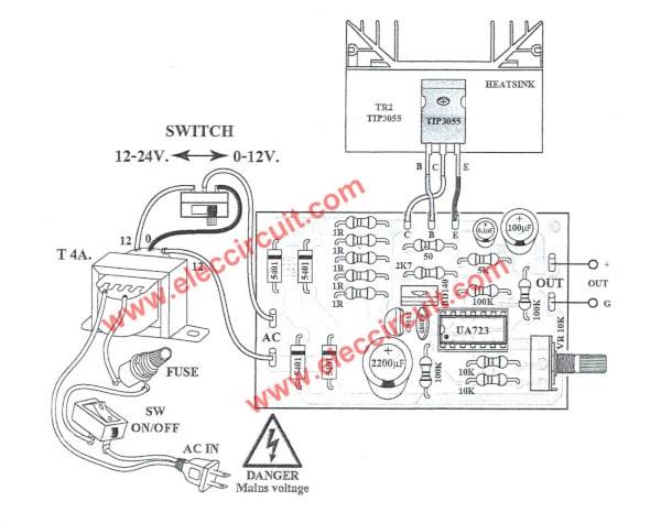 wiring electrolytic capacitors in series