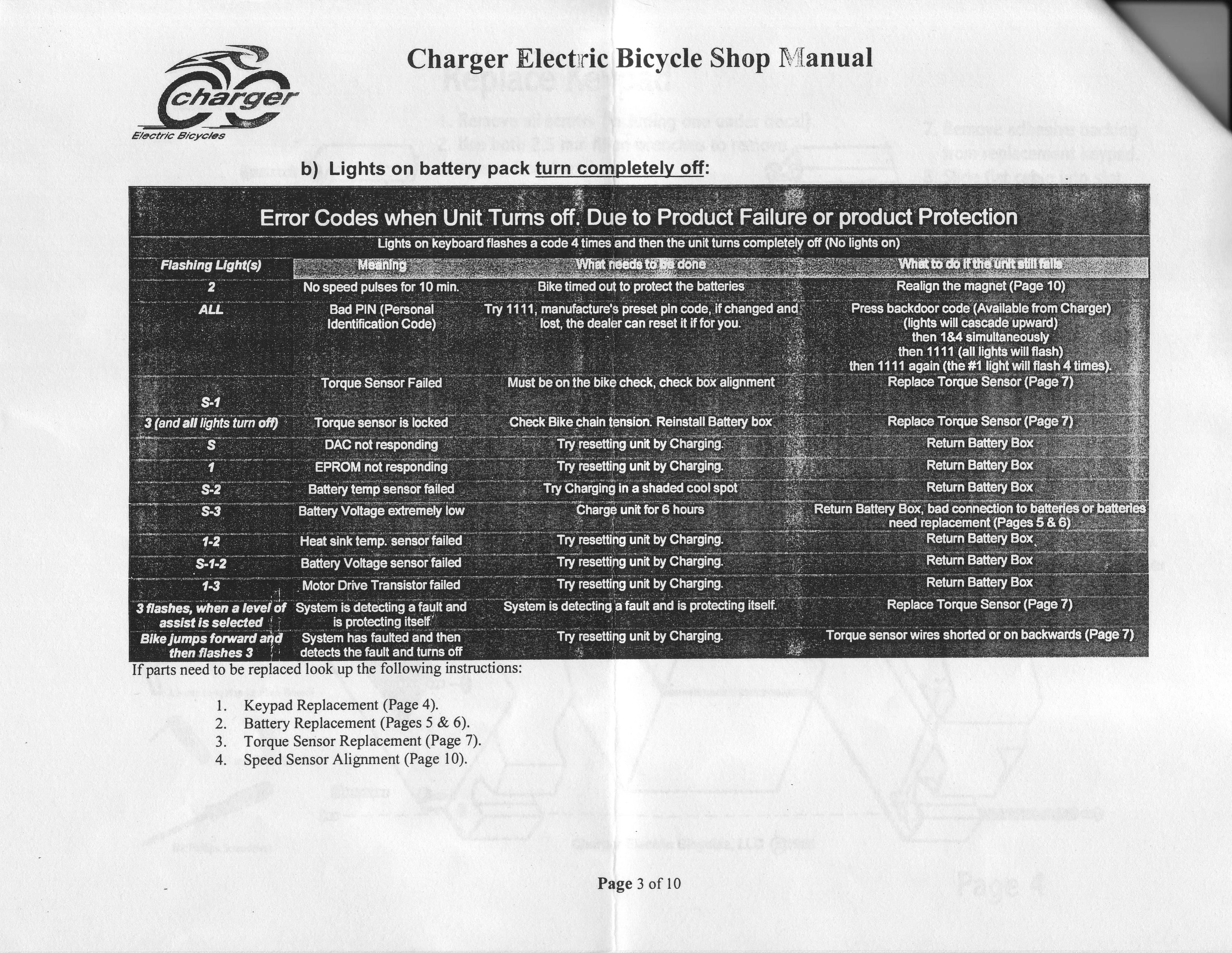 Diagnose And Fix Electric Bikes Scooters Auto Electrical Bladez Scooter Wiring Diagram Mercury Color Code