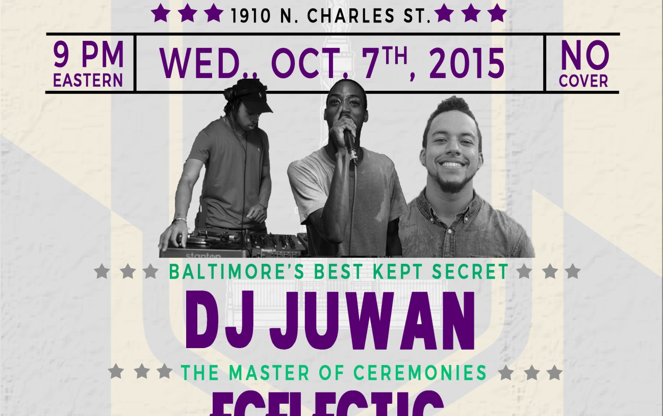 """Clubmania"" at The Crown, Baltimore, MD 10/07/15"