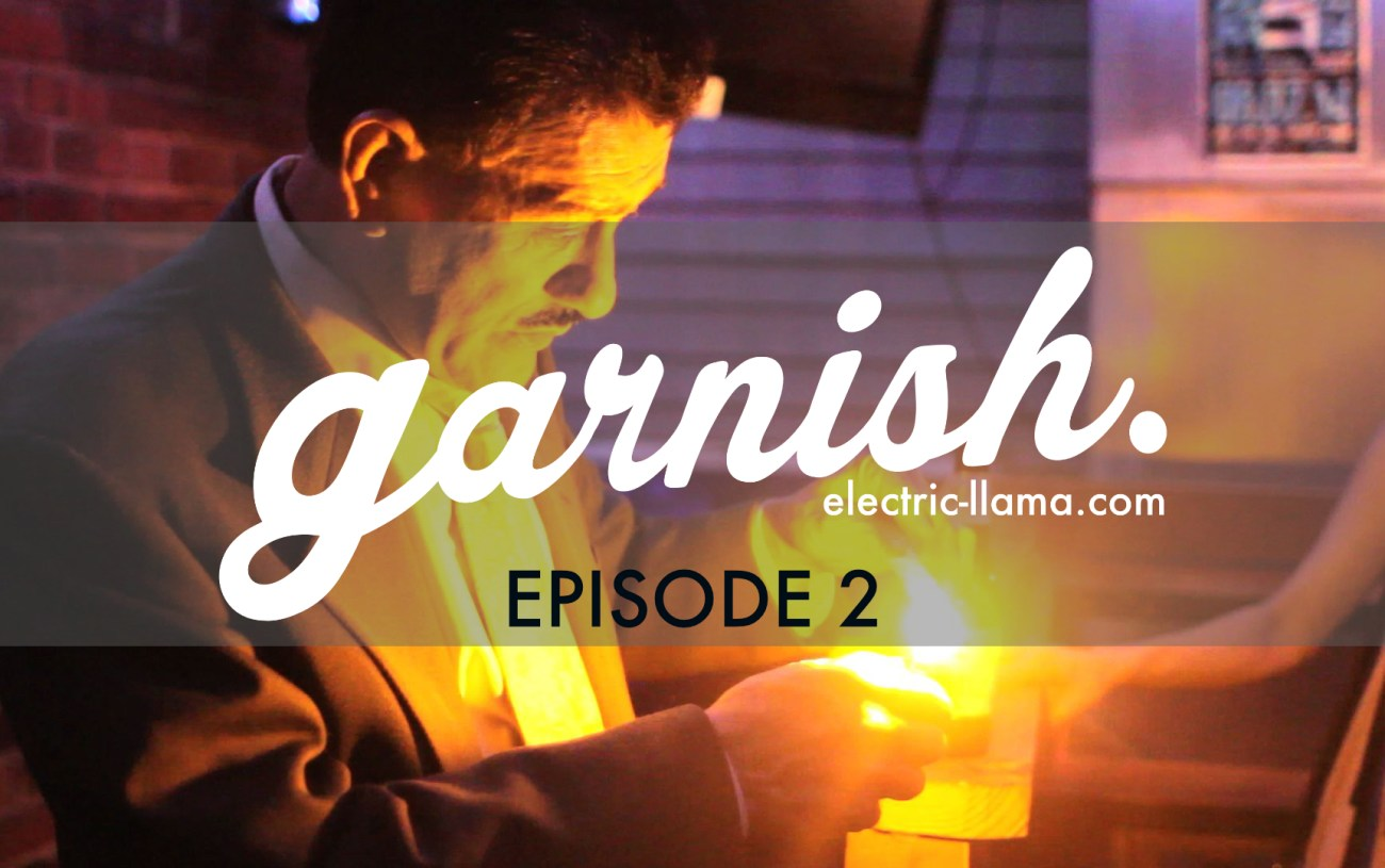 Watch Garnish Episode 2: Frank Namin, Zeba Bar's Resident Magician