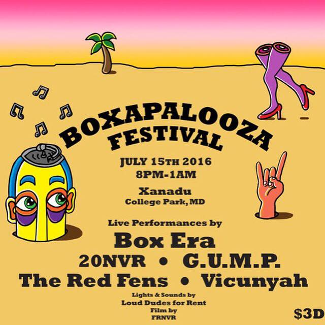 Boxapalooza 2: Mix and Photos by Dusty & Frankliin