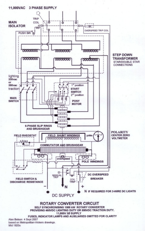 rotary converters ecn electrical forums