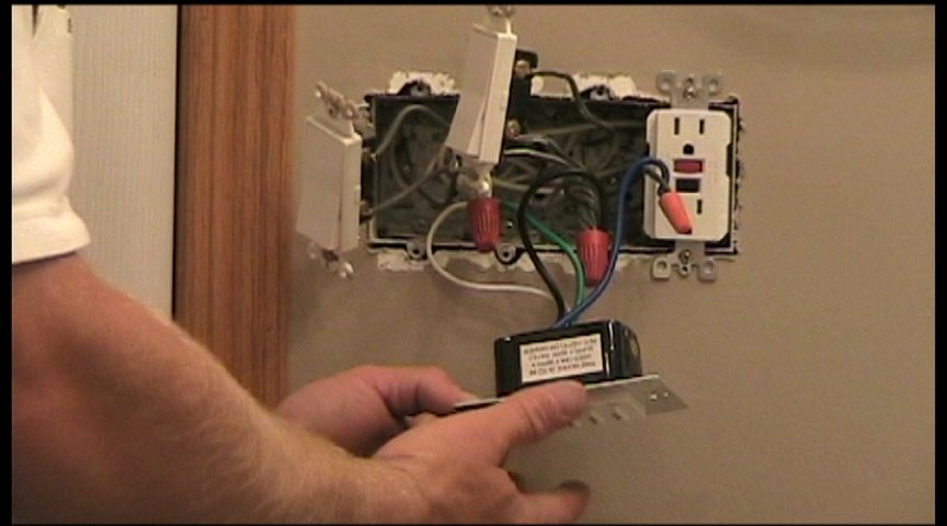 Replacing a Bath Fan Switch - Electronic Timing Device  Electrical