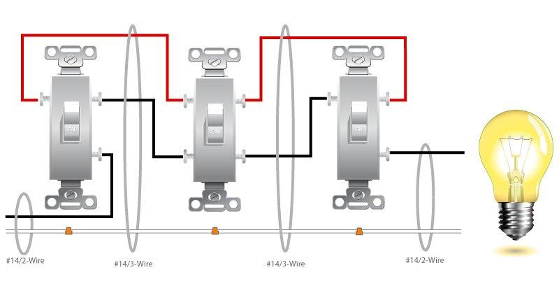 4 pole switch wiring diagram
