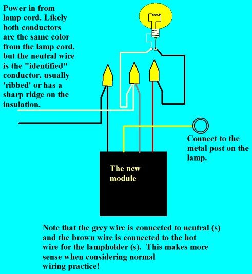 Wiring Diagram For Touch Lamp Electronic Schematics collections