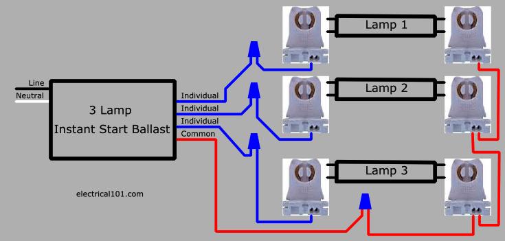 wiring lights in series diagram