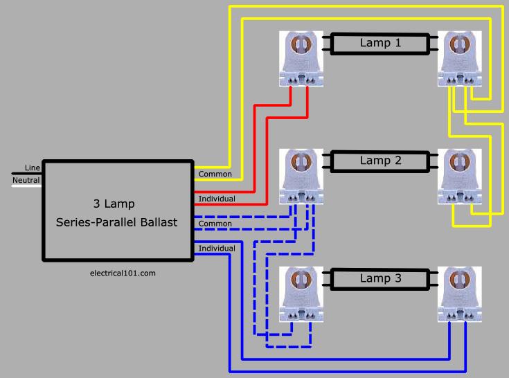3 wire ballast diagram