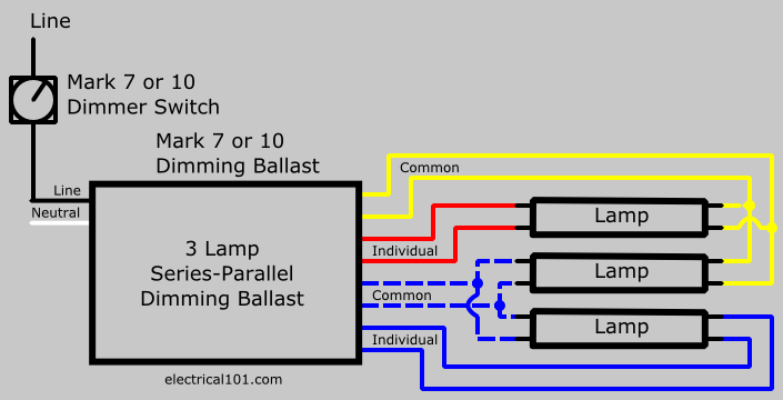 3 lamp advance ballast wiring diagram