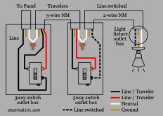 3 way light switch problems