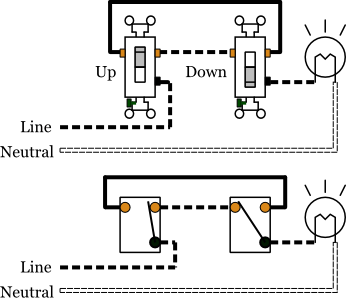 wiring diagram light switch 3 way