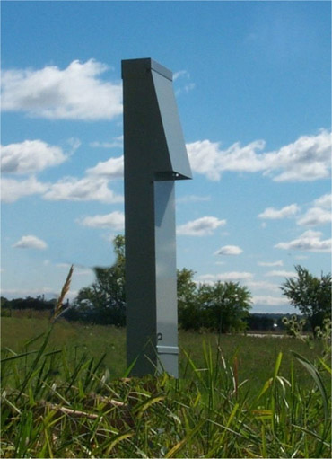 100 Amp RV Electrical Service Pedestal \u2013 Unmetered Electrical