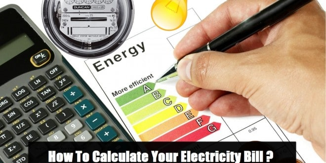 How To Calculate Your Electricity Bill? Simple Calculation - monthly bill calculator