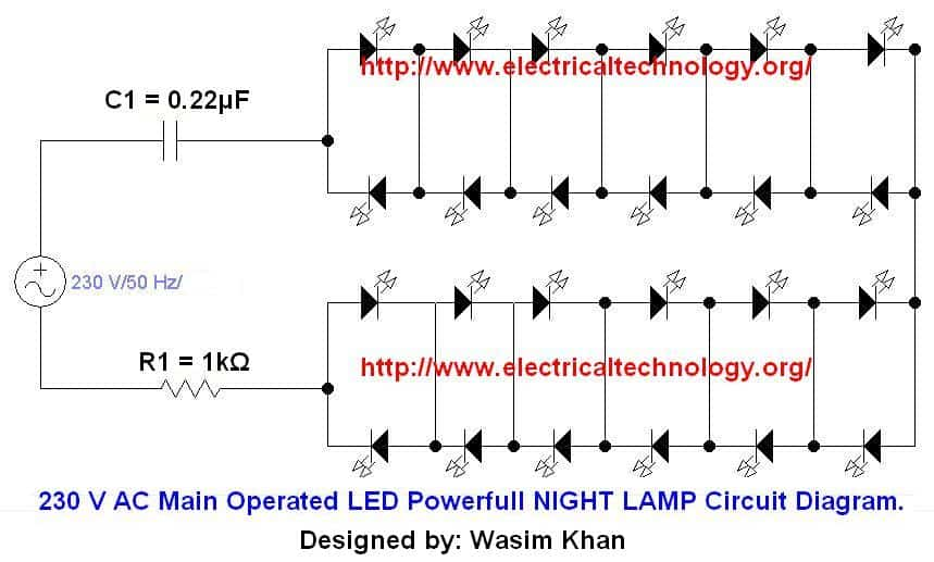 Led Lights Circuit Diagrams Wiring Diagram