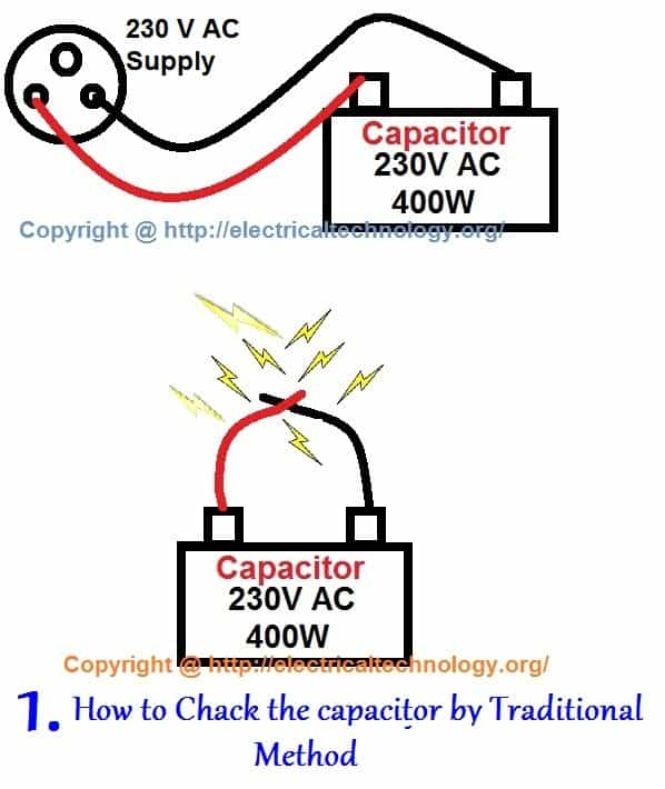 How to Test a Capacitor by Digital  Analog Multimeter - 6 Methods