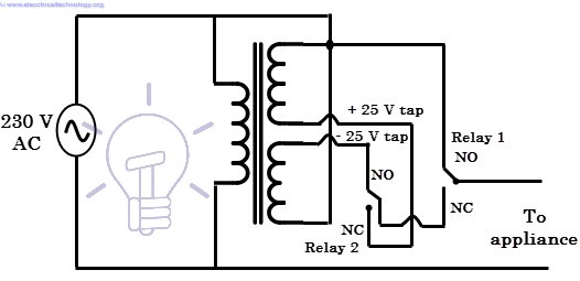 voltage stabilizer constant current circuit with the operational