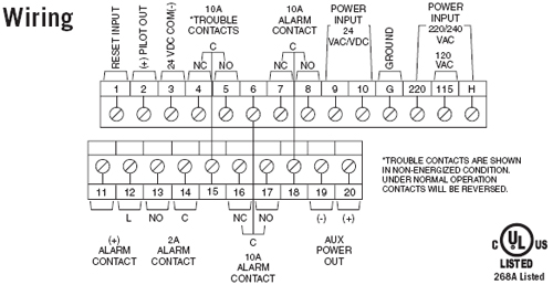 firex wiring diagram