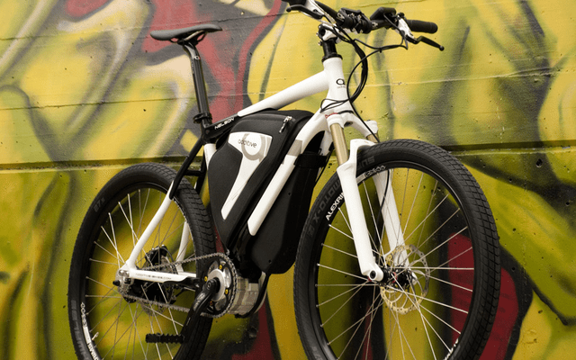 This is the new E-bike from Additive, using the new Clean Mobile mid drive system