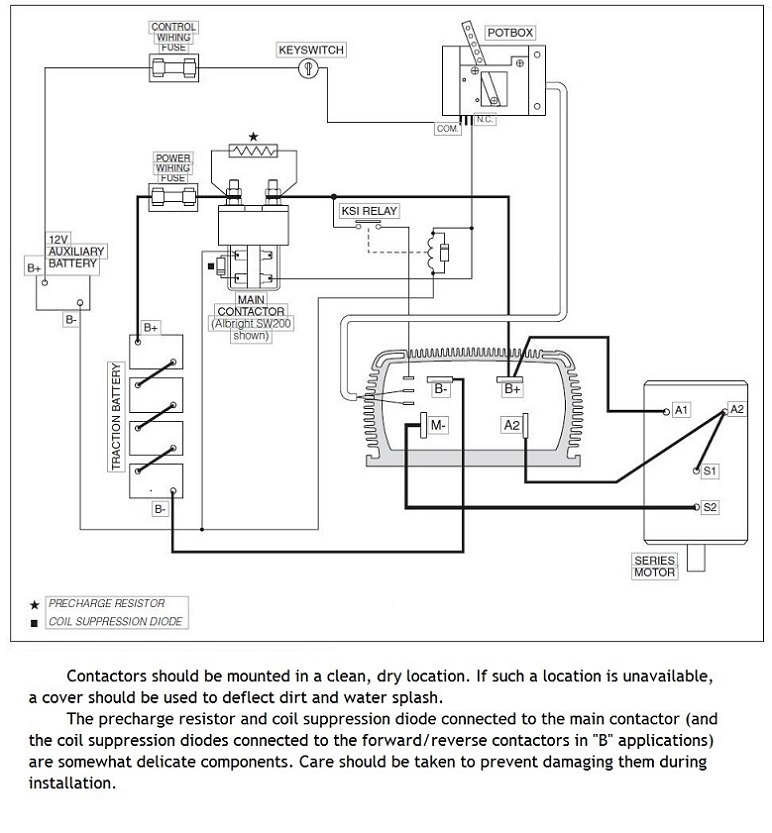 EV Conversion Schematic