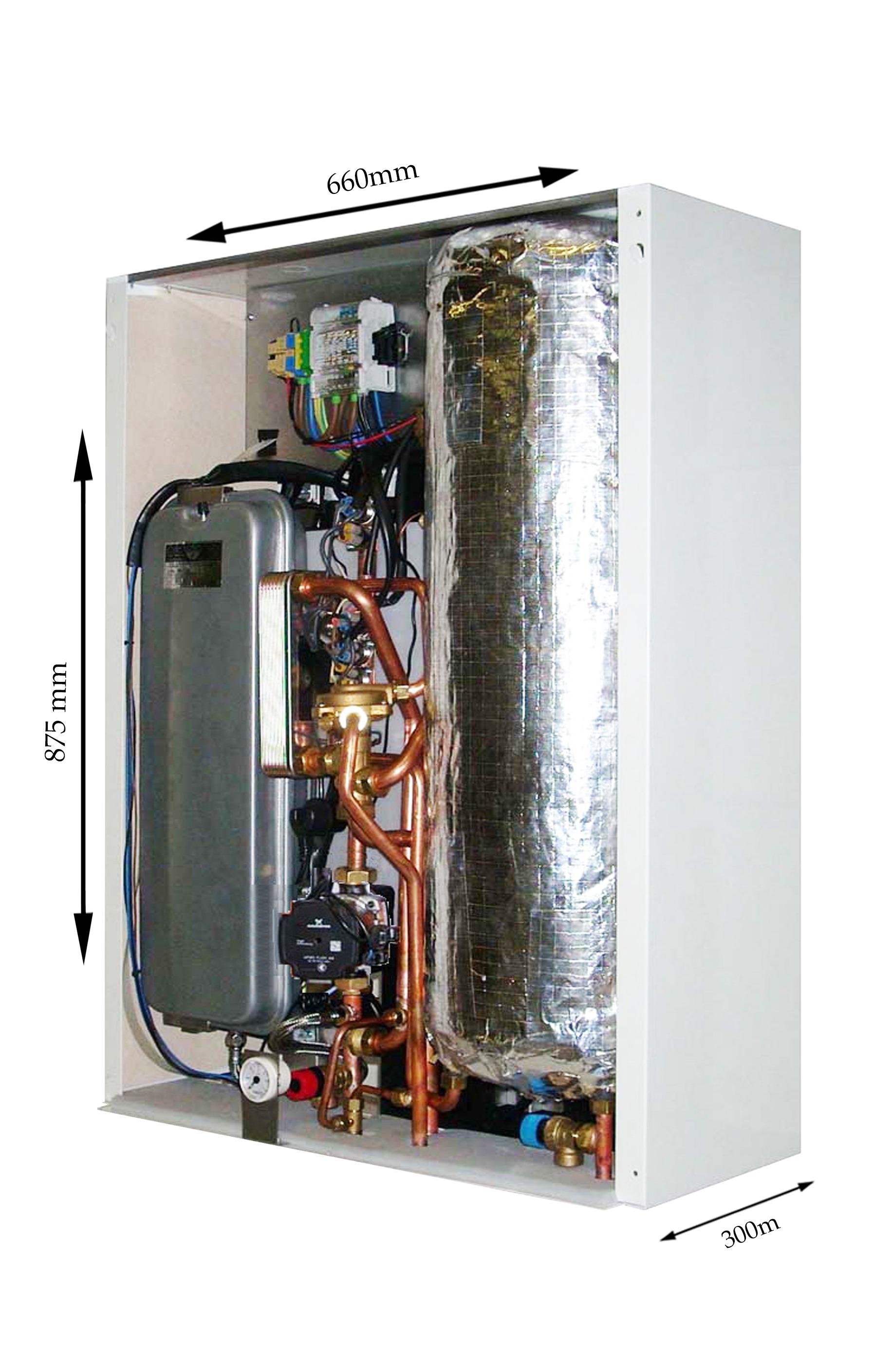 Ekbp 12kw Electric Combi Boiler With Inbuilt Cylinder