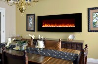 """Dynasty 70"""" Wall Mount Electric Fireplace 