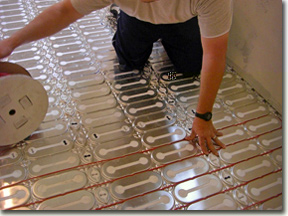 Electric floor heating projects and applications