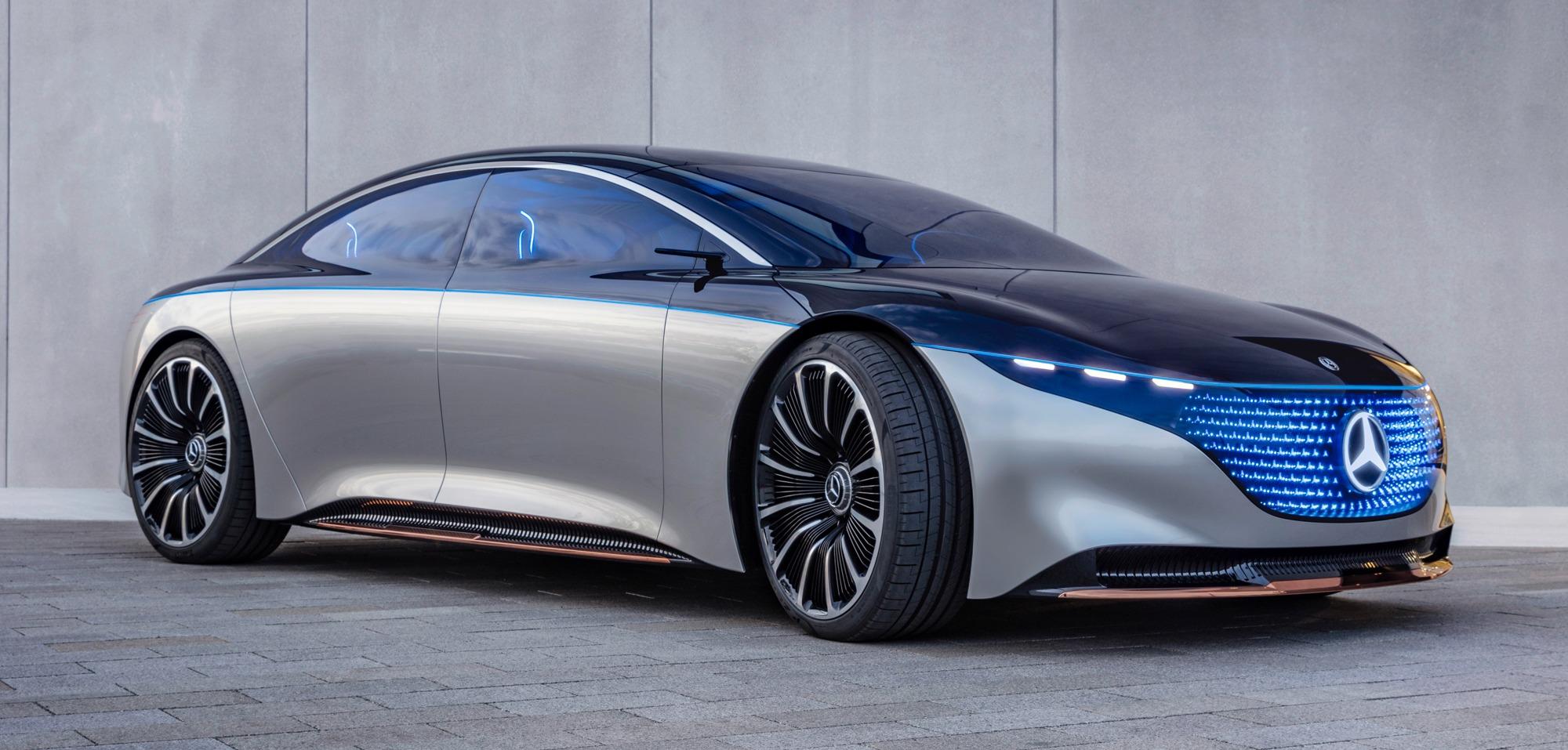 mercedes 2019 electric car