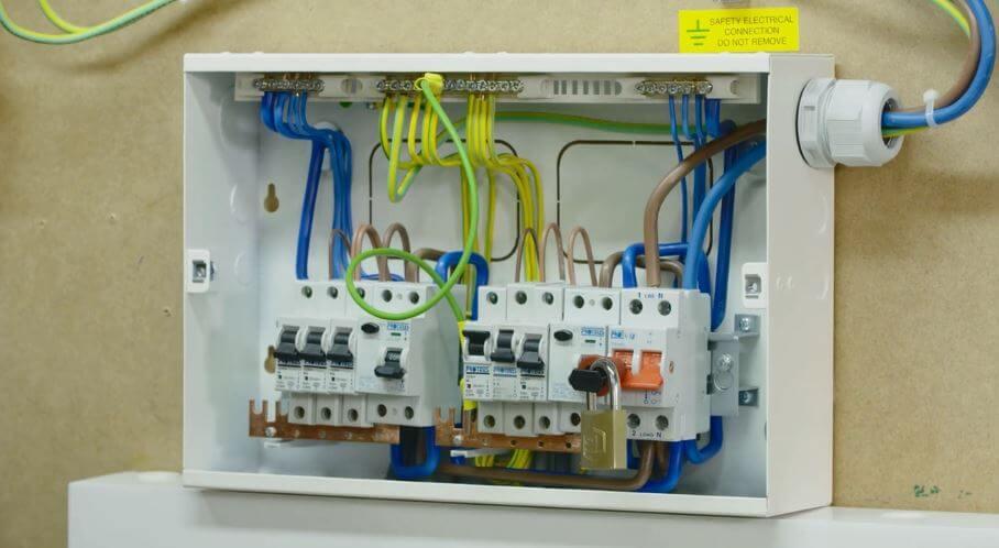Radial Lighting Circuit Wiring Diagram