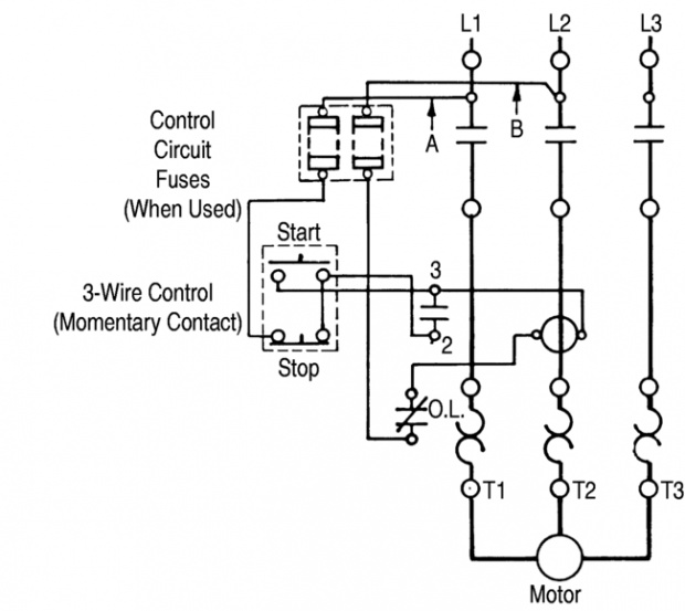 ge magnetic starter wiring diagrams