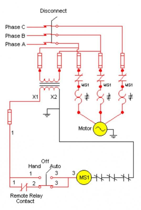magnetic starter/ex fan/damper/gen/bas - Electrician Talk
