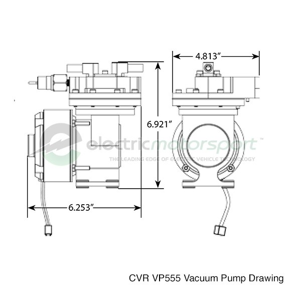 brake vacuum pump wiring diagram