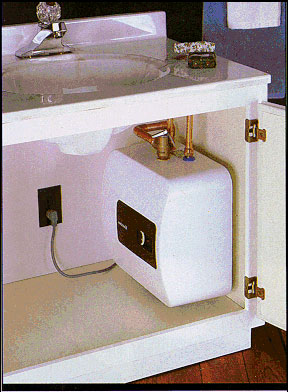 Electric Tankless Water Heaters Point Of Use And