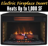 How to Choose an Electric Fireplace Insert