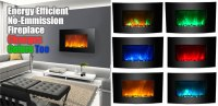 LED Fireplace has... Green, Purple + Blue Flames? Here's How