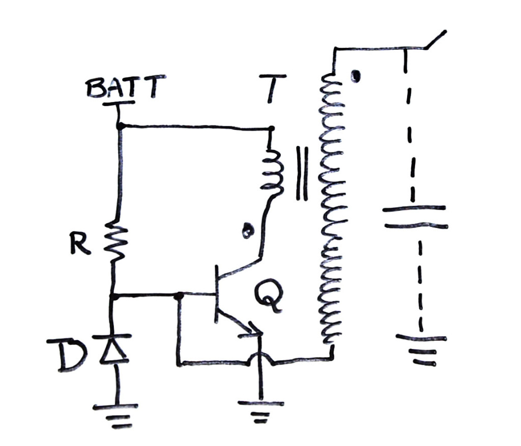 tesla wiring diagram of t31c transistors and diodes