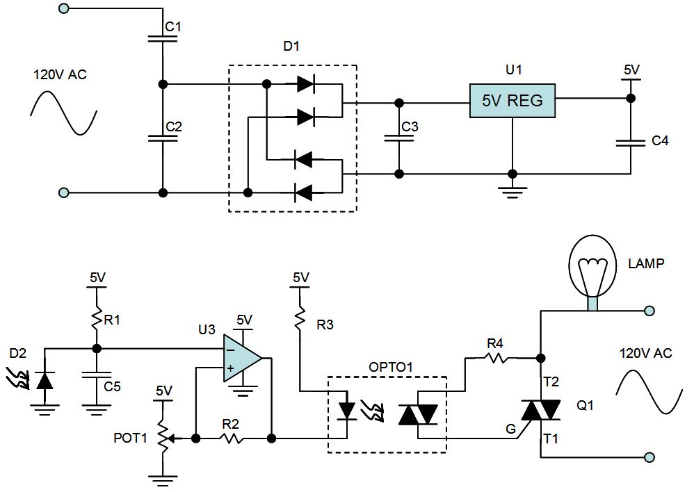 thoughts on night light circuit