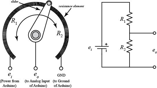 potentiometer motor control wiring diagram