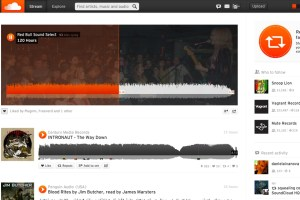Example Soundcloud Redbull Page